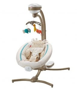 Fisher-Price Cradle 'n Swing, Soothing Savanna