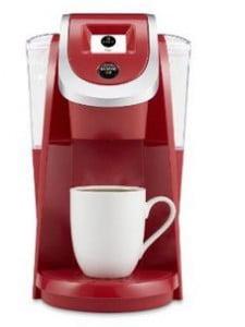 Keurig K250 Coffee Maker, Imperial Red (New Packaging)