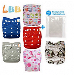 Reusable Baby Cloth Pocket Diapers Review- LBB
