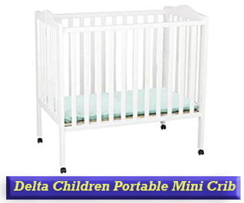 Delta Children Portable Mini Crib