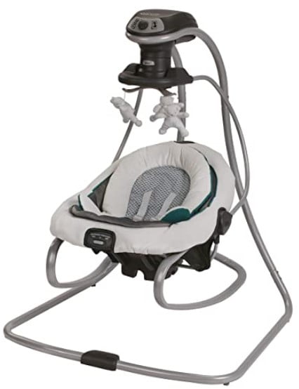 Graco DuetSoothe Baby Swing and Rocker